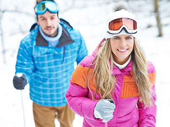s impregnací textilu a kůže je možné impregnovat bundy a lyžařské kombinézy
