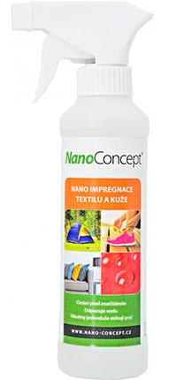 nano impregnácia textilu a kože