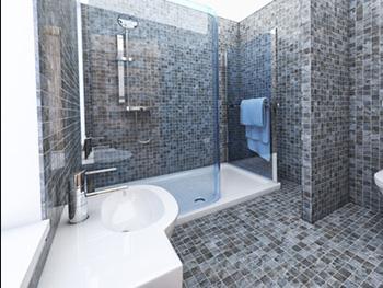 špína už se nebude zažírat, proto bude úklid koupelny otázkou několika minut